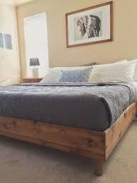 diy king bed frame. Contemporary Bed Bedroom Update King Bed DIY U2014 THE GREAT GOODNESS For Diy Frame
