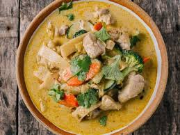 Image result for thai chicken curry green