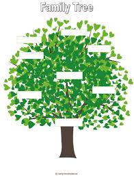Family Tree For Kids Template Family Tree For Kids Family