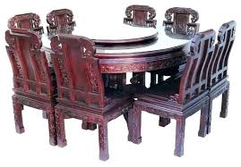 dining table 8 chairs gumtree for large round oak tables and dark furniture outstanding