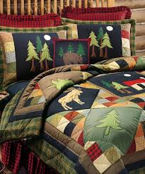 Rustic Quilt Collection - Timberline Quilt & Timberline Rustic Quilt Adamdwight.com