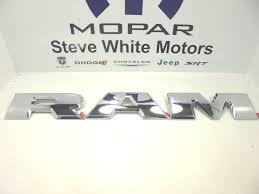 15 18 dodge ram 1500 tailgate large r a m emblem letters set chrome mopar oem ebay