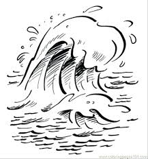 Sea Coloring Page Under Sea Coloring Pages Underwater Of Water For