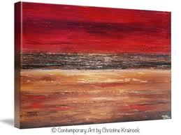 giclee print art abstract red painting canvas prints modern urban wall art brown gold coastal on brown wall art canvas with giclee print art abstract red painting canvas prints modern urban