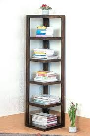solid wood corner shelf unit shelving ideas furniture custom small lewtonsite