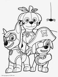 Rubble Paw Patrol Coloring Page Lovely Lernspiele Färbung Bilder