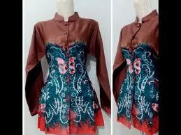 Dimana baju kombinasi ini hanya menggunakan sedikit kain sasirangan yang digunakan sebagai tambahan kombinasi di kain polos. Model Baju Sasirangan Wanita Model Peplum Youtube
