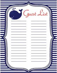 Free Printable Baby Shower Guest List Classy Baby Shower Instant Download Guest List Signin Sheet Etsy