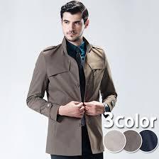 men fashion coat jacket muchu of pea coat p coat mods coat short length on the small side older brother line