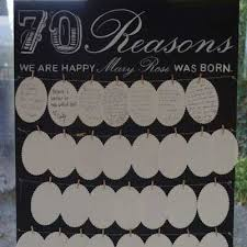 70 reasons why we love you