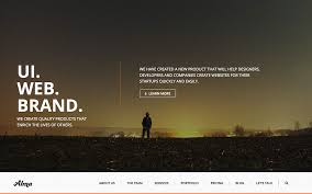 Parallax Website Template Amazing 28 Best Parallax WordPress Themes 28 AThemes