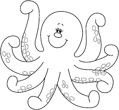 octopus coloring page 52 with octopus coloring page