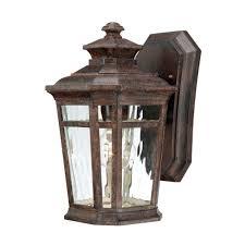 home decorators collection waterton 1 light dark ridge bronze outdoor wall mount lantern