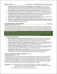 C-level Executive Resume Page 2