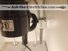 how to wire a garbage disposal and a dishwasher outlet disposal dishwasher outlet