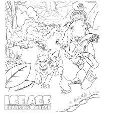 Leuk Voor Kids Kleurplaat Manny Sid Diego Buck Crash Eddie