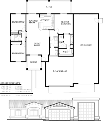 house plans with rv garage attached fresh bedroom house plans home designs celebration homes floorplan preview