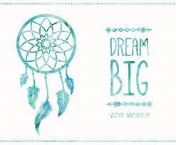 Dream Catcher Card Designs Watercolor Dreamcatcher Card Vector Art Graphics