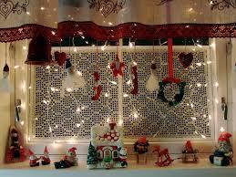 Kitchen Christmas Christmas Kitchen Window Southwestdesertlover