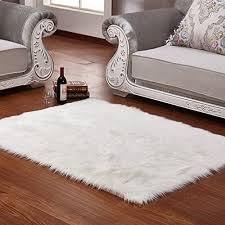 white fuzzy carpet elegant wendana faux sheepskin area rug silky rug white fluffy carpet of