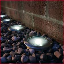 garden rock lights solar rock landscaping