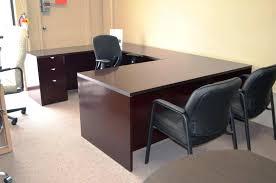 u shaped desk office depot. U Shape Office Desk Image Of Shaped L With Hutch Depot .