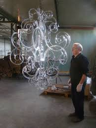 assembling and testing modern contemporary murano glass chandelier pertaining to modern home contemporary glass chandeliers designs