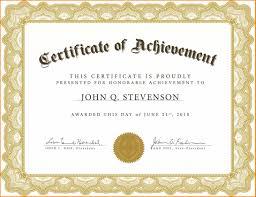 Formal Certificates Awards Templates Word Certificates Formal Award Template Or