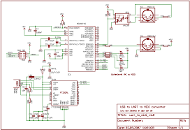 usb to midi interface i build a layout for this schematic