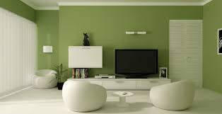green wall paintExperiment with wall paint colors green to make your Home feel