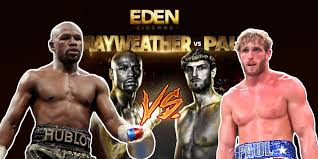 Despite the fact floyd mayweather is fighting his brother logan paul, jake paul got into quite the situation with mayweather, by stealing his baseball cap after a press conference for the logan paul vs. Logan Paul Vs Floyd Mayweather Fight Showing Live At The Eden Cinemas