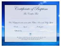 Sample Baptism Certificate Template Beauteous Free Printable Baptism Certificate Template Prayers Quotes