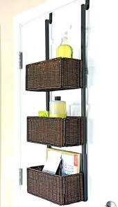 office storage baskets. Office Storage Baskets Over Door Small Space Solution The Home Organizers L