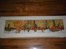 large enamel wall art