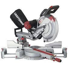 craftsman sliding miter saw. craftsman 12 in. dual bevel sliding compound miter saw t