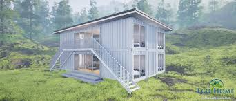 sch6 6 x 40ft double y two bedroom duplex container home