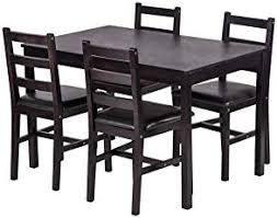 bestmage dining table set kitchen dining table set wood table and chairs set kitchen table and