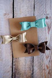 creative leather crafts diy leather hair bows best diy projects made with leather