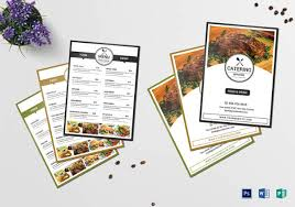 Catering Proposal Template Word Best Of 29 Catering Menu Templates ...