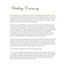 Wedding Ceremony Templates Free Wedding Ceremony Template Templates Free Sample Example