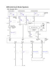 abs electrical schematic ex canada ex l 2004