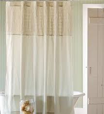 main image for ruched linen shower curtain