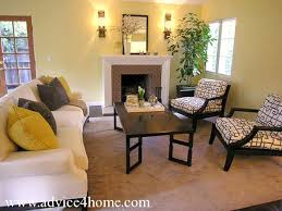 ideas with living room cream sofa design and wall with modern wall light lamp and tree living