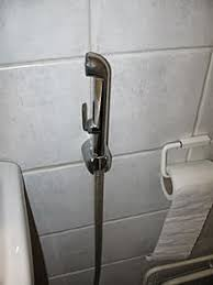 A bidet shower
