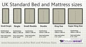 Bed Sizes Mattress Sizes Uk Mattress Sizes