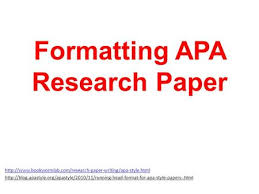how to write an apa style abstract ppt formatting apa research paper
