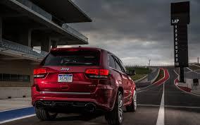 automotive car motor daily: 2014 Jeep Grand Cherokee SRT Track Drive