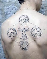50 Vitruvian Man Tetování Vzory Pro Muže Da Vinci Ink Myšlenky