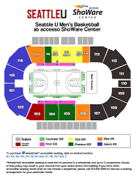 Accesso Showare Center Fan Guide Seattle University