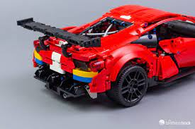 So, definitely not the same. Lego Technic 42125 Ferrari 488 Gte Af Corse 51 Review The Brothers Brick The Brothers Brick